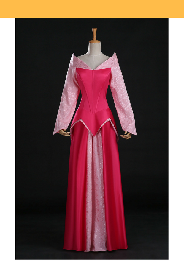 Cosrea Disney Sleeping Beauty Aurora Disney Park Inspired Cosplay Costume