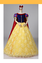 Snow White Brocade Lace Cosplay Costume - Cosrea Cosplay