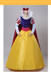 Cosrea Disney Snow White Custom Long Sleeve Cosplay Costume