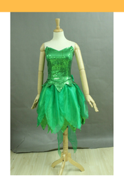 Cosrea Disney Tinkerbell Classic Sequin Fabric Cosplay Costume