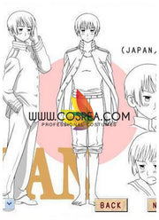 Hetalia Japan Cosplay Costume - Cosrea Cosplay