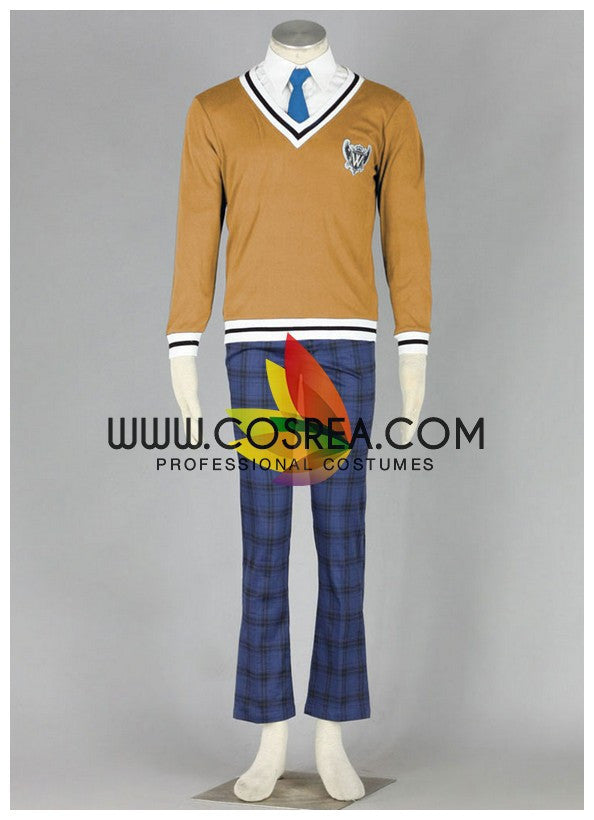 Cosrea F-J APH Hetalia World W Academy Male Winter Cosplay Costume