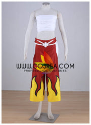 Fairy Tail Erza Crimson Sakura Cosplay Costume - Cosrea Cosplay