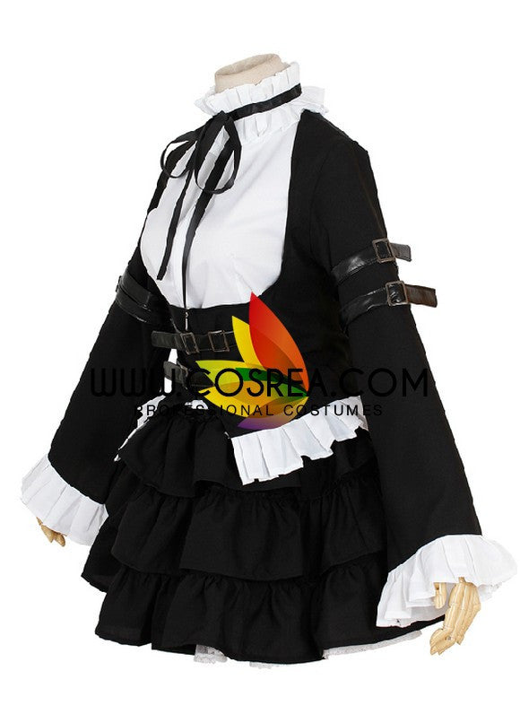 Fairy Tail Erza Scarlet Maid Cosplay Costume - Cosrea Cosplay