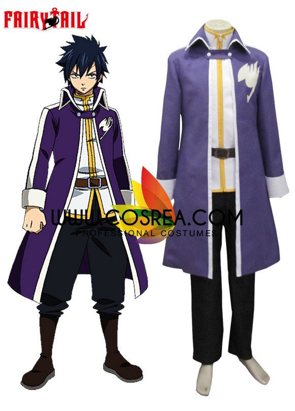 Cosrea F-J Fairy Tail Gray Fullbuster Guild Cosplay Costume
