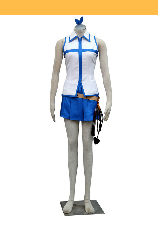 Fairy Tail Lucy Heartfilia Casual Cosplay Costume - Cosrea Cosplay
