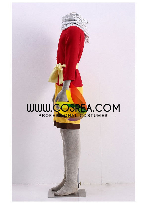 Fairy Tail Natsu Youth Cosplay Costume - Cosrea Cosplay