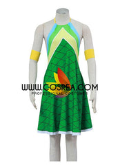 Fairy Tail Wendy Dragonscale Cosplay Costume
