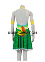 Fairy Tail Wendy Dragonscale Cosplay Costume - Cosrea Cosplay