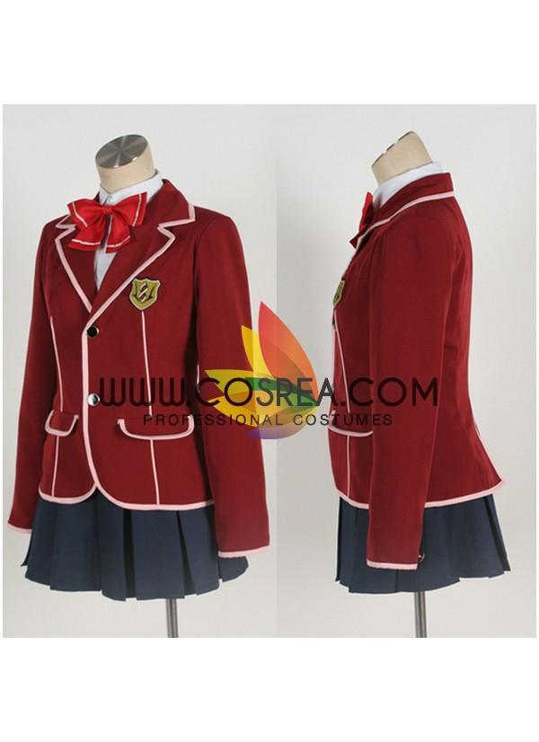 Cosrea F-J Guilty Crown Tennoz High Female Uniform Cosplay Costume