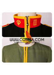 Gundam Char Aznable Uniform Cosplay Costume