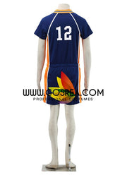 Haikyuu Karasuno High 12 Cosplay Costume - Cosrea Cosplay