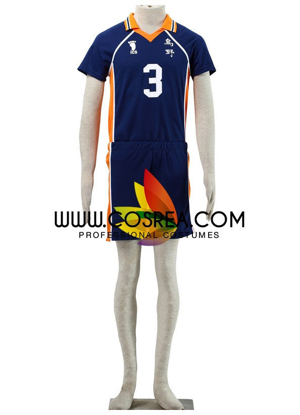 Cosrea F-J Haikyuu Karasuno High 3 Cosplay Costume