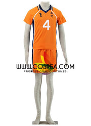 Haikyuu Karasuno High 4 Cosplay Costume - Cosrea Cosplay