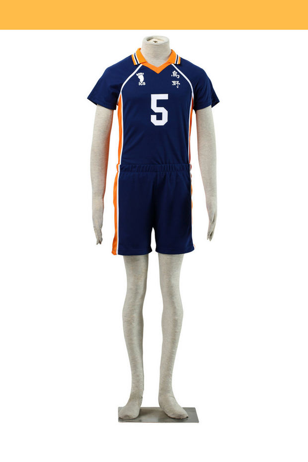 Haikyuu Karasuno High 5 Cosplay Costume - Cosrea Cosplay