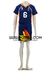 Haikyuu Karasuno High 6 Cosplay Costume - Cosrea Cosplay