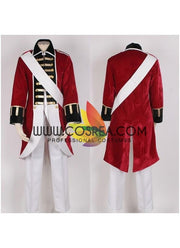 Cosrea F-J Hetalia England Revolutionary War Cosplay Costume