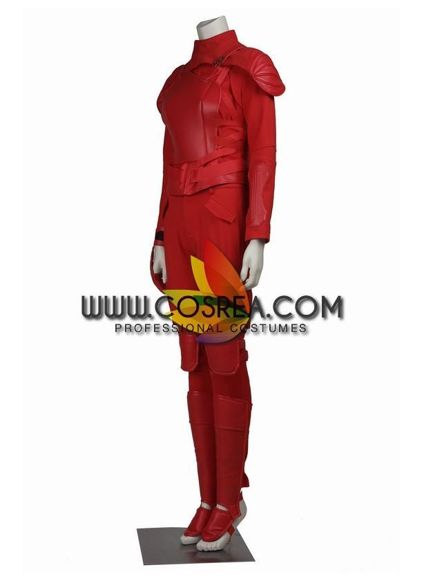 Hunger Games Katniss Everdeen Mockingjay 2 Cosplay Costume - Cosrea Cosplay