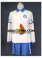 Inazuma Eleven Haku Team Summer Uniform Cosplay Costume