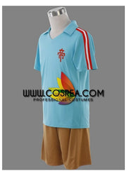 Inazuma Eleven True Teikoku Academy Summer Uniform Cosplay Costume - Cosrea Cosplay