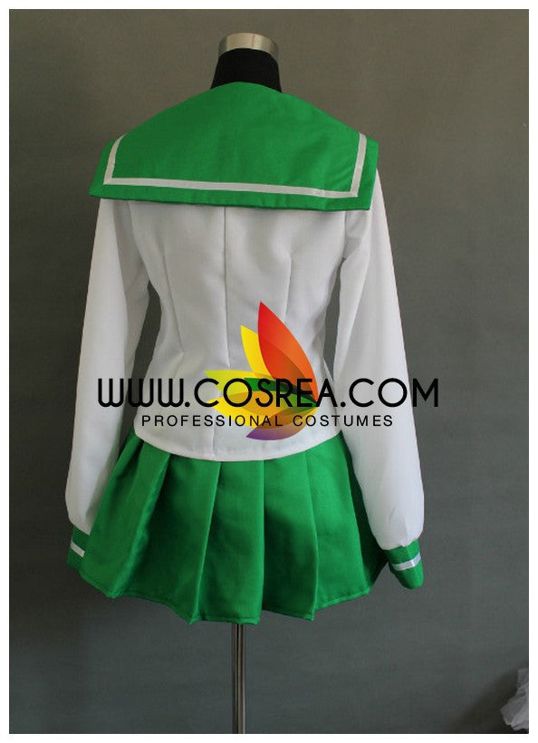 Inuyasha Kagome Uniform Cosplay Costume - Cosrea Cosplay