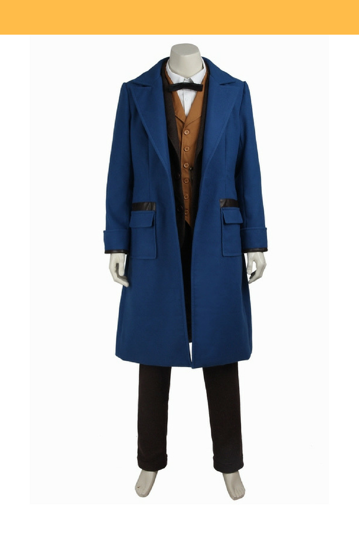 Newt Scamander Fantastic Beasts And Where To Find Them Cosplay Costume