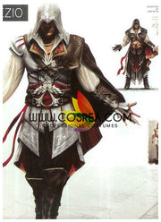 Assassin's Creed II Ezio Cosplay Costume - Cosrea Cosplay