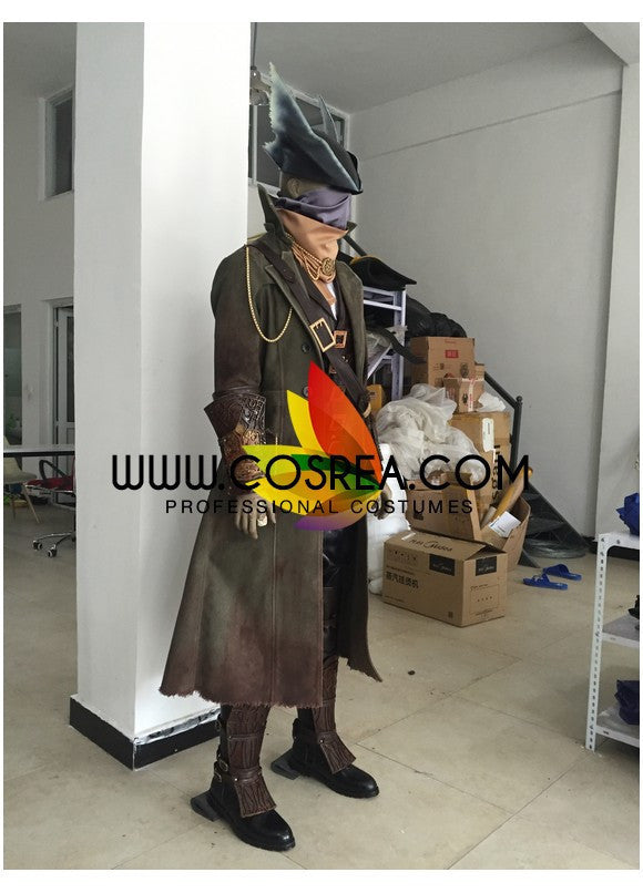 Bloodborne The Hunter High Detail Cosplay Costume - Cosrea Cosplay