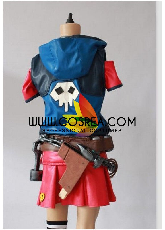 Gaige Borderlands 2 PU Leather Cosplay Costume - Cosrea Cosplay