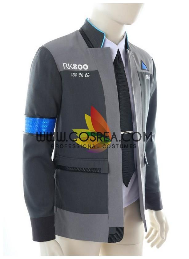 Detroit Become Human Connor Cosplay Costume Cosrea Cosplay