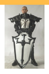 Cosrea Games Diablo 3 Male Crusader Cosplay Armor