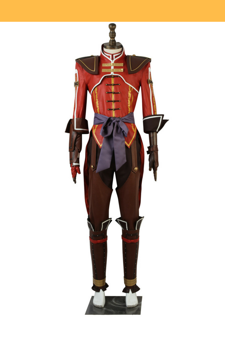 Dynasty Warrior 8 Lu Xun Cosplay Costume