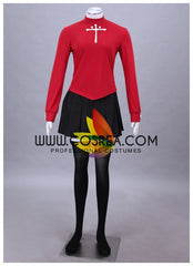 Fate Night Rin Tohsaka Casual Cosplay Costume