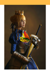 Cosrea Games Fate Stay Night Saber Classic Armor Cosplay Costume