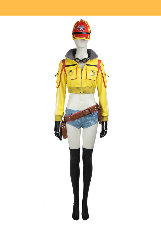 Final Fantasy 15 Cindy Aurum Option A Cosplay Costume - Cosrea Cosplay