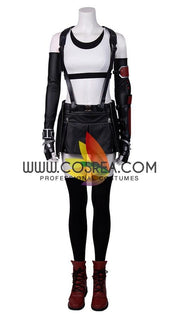 Final Fantasy 7 Remake Tifa PU Leather Cosplay Costume