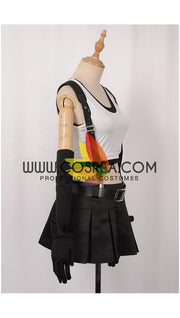 Cosrea Games Final Fantasy 7 Remake Tifa Uniform Fabric Cosplay Costume