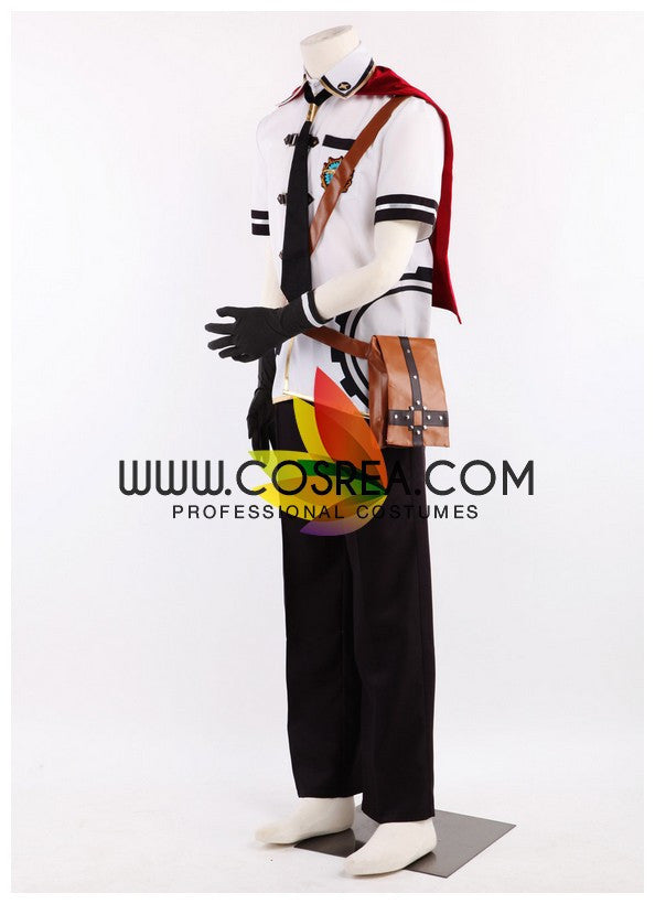 Final Fantasy Type 0 Ace Summer Cosplay Costume - Cosrea Cosplay