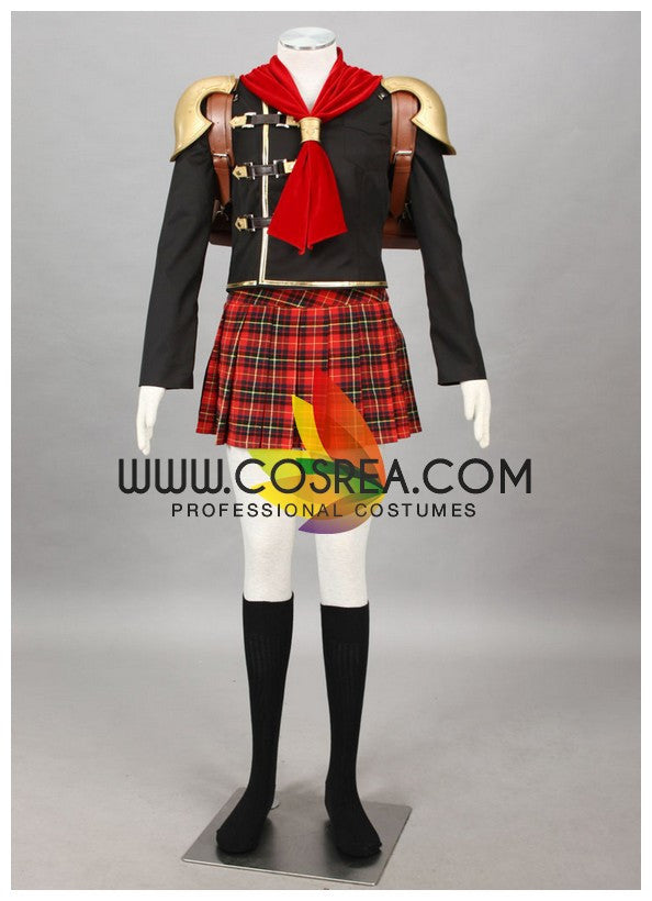 Cosrea Games Final Fantasy Type 0 Cater Cosplay Costume