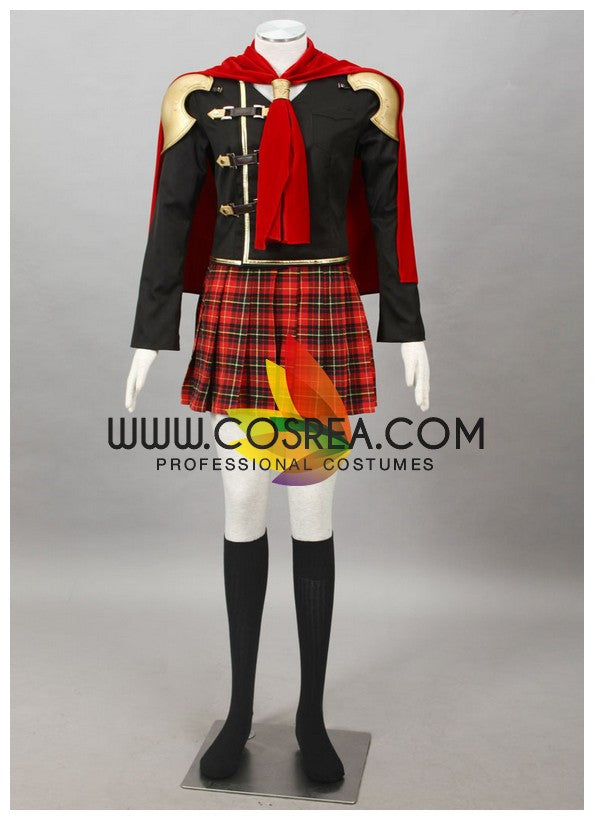 Cosrea Games Final Fantasy Type 0 Queen Cosplay Costume