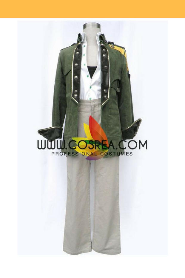 Final Fantasy XIII Sazh Katzroy Cosplay Costume - Cosrea Cosplay