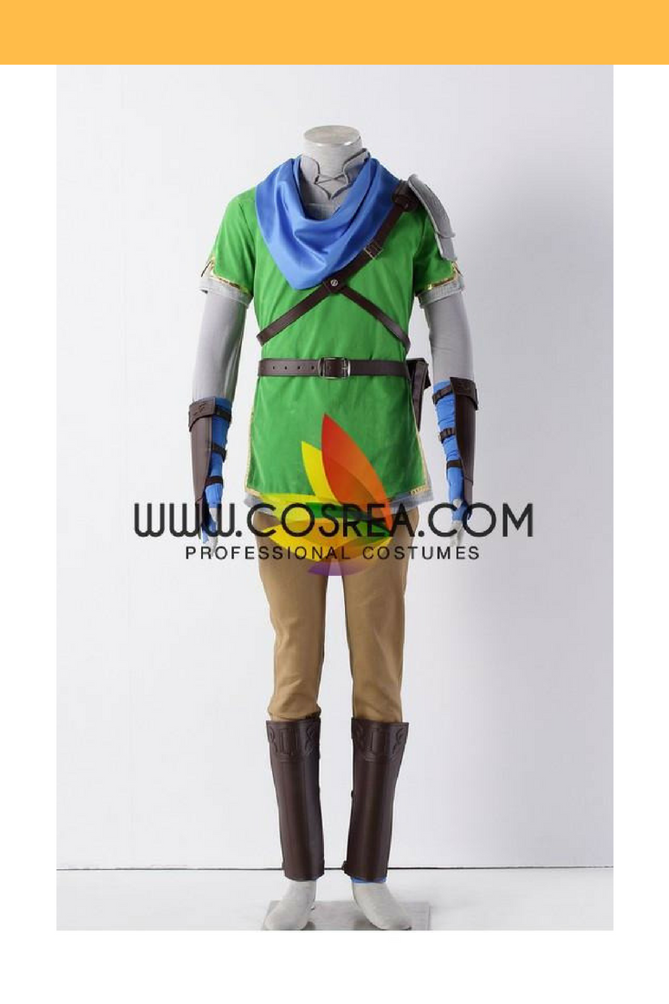 Hyrule Warriors Link Green Cosplay Costume