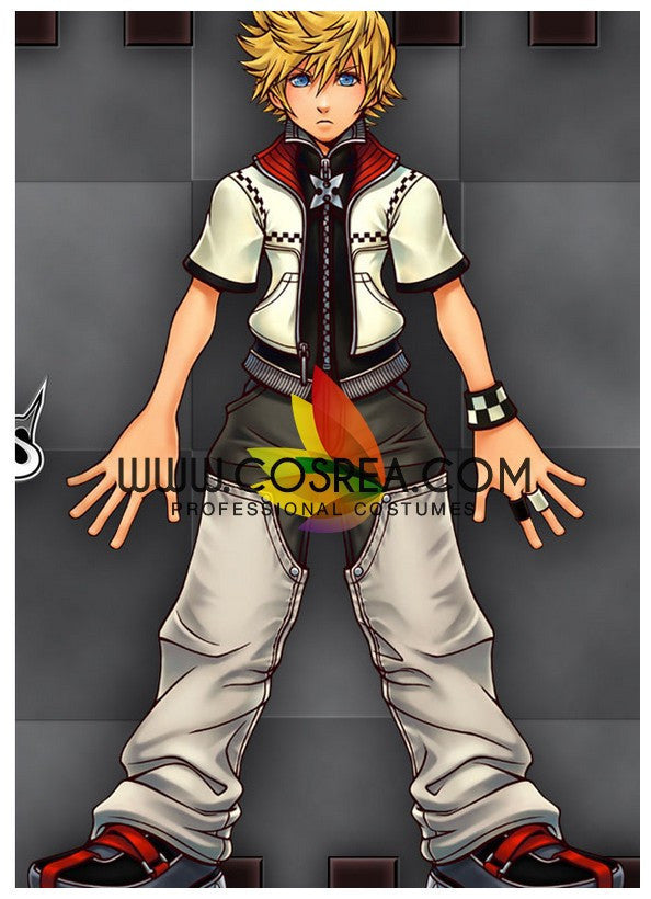 Cosrea Games Kingdom Hearts 2 Roxas Cosplay Costume
