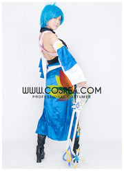 Kingdom Hearts Dream Drop Aqua Cosplay Costume - Cosrea Cosplay