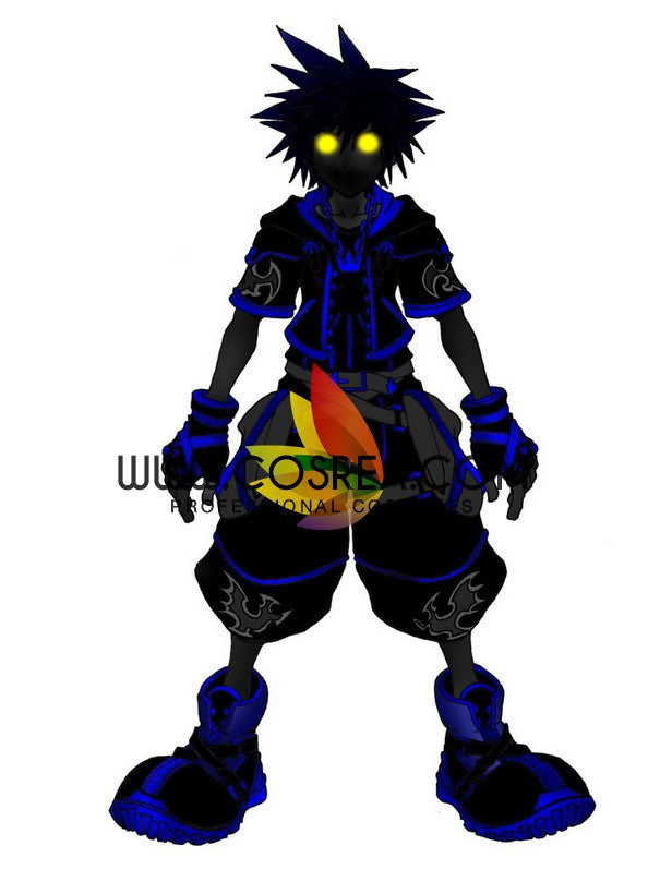 Cosrea Games Kingdom Hearts II Sora Wisdom Shadow Form Cosplay Costume