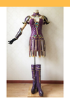 Cosrea Games League of Legend Warrior Princess Sivir Cosplay Costume