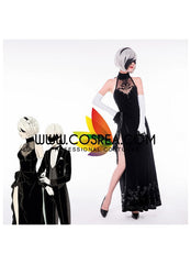 f96be391268c NieR Automata 2B Evening Dress Cosplay Costume - Cosrea Cosplay