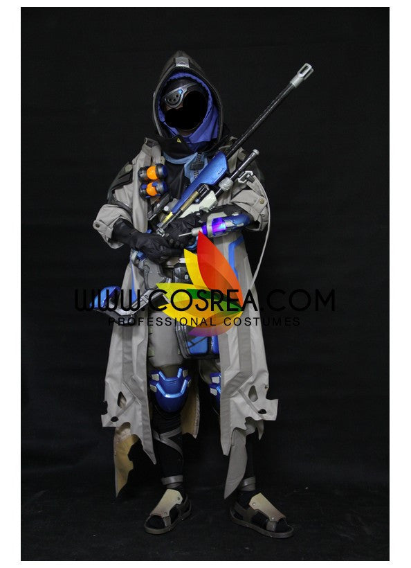 Cosrea Games Overwatch Ana Classic Skin Complete Cosplay Costume