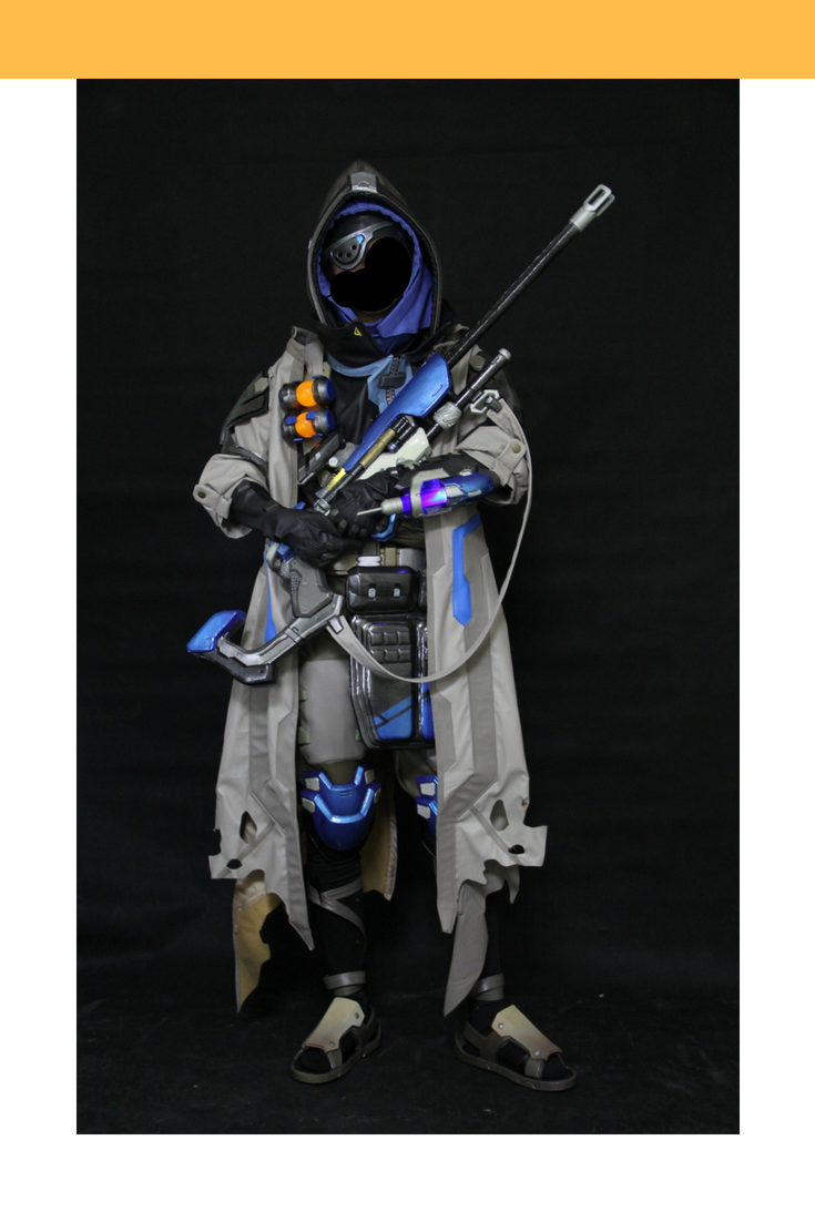 Overwatch Ana Complete Cosplay Costume