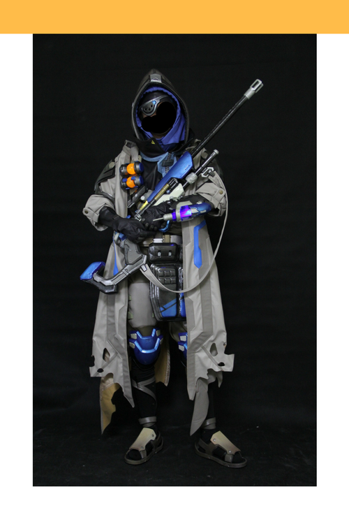 Cosrea Games Overwatch Ana Complete Cosplay Costume